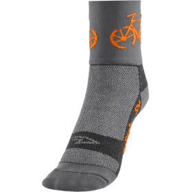 "DeFeet Aireator 3"" Chaussettes, townee/grey"